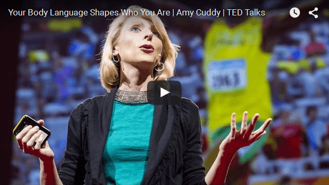 Social Psychologist Amy Cuddy TED Talk | Power Poses