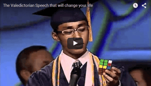 The Best Valedictorian Speech Ever
