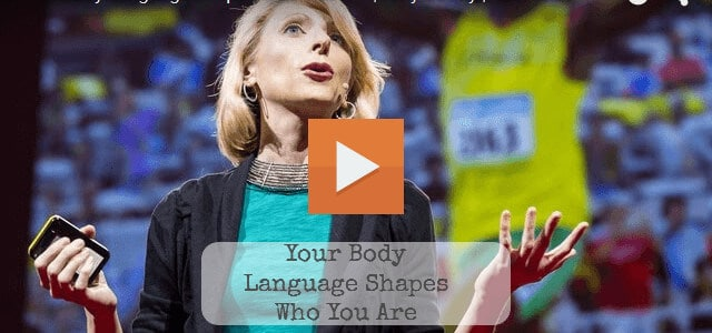 Social Psychologist Amy Cuddy TED Talk - Power Poses